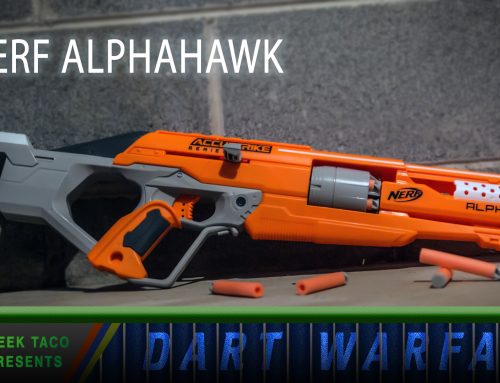 Dart Warfare: The NERF Alphahawk