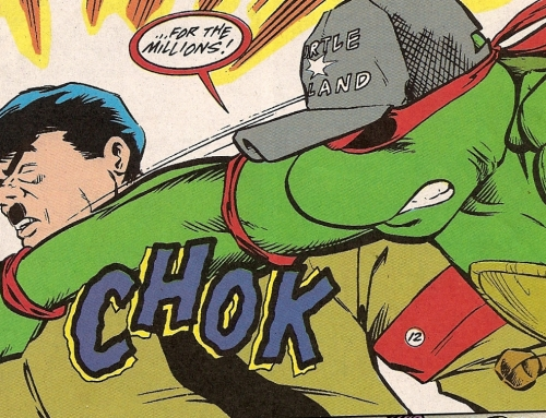 A Collection of Comic Characters Beating Up Nazis