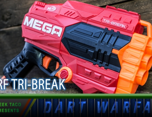 Dart Warfare: The NERF Tri-Break