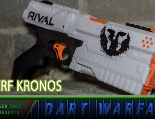 Dart Warfare: The NERF Kronos