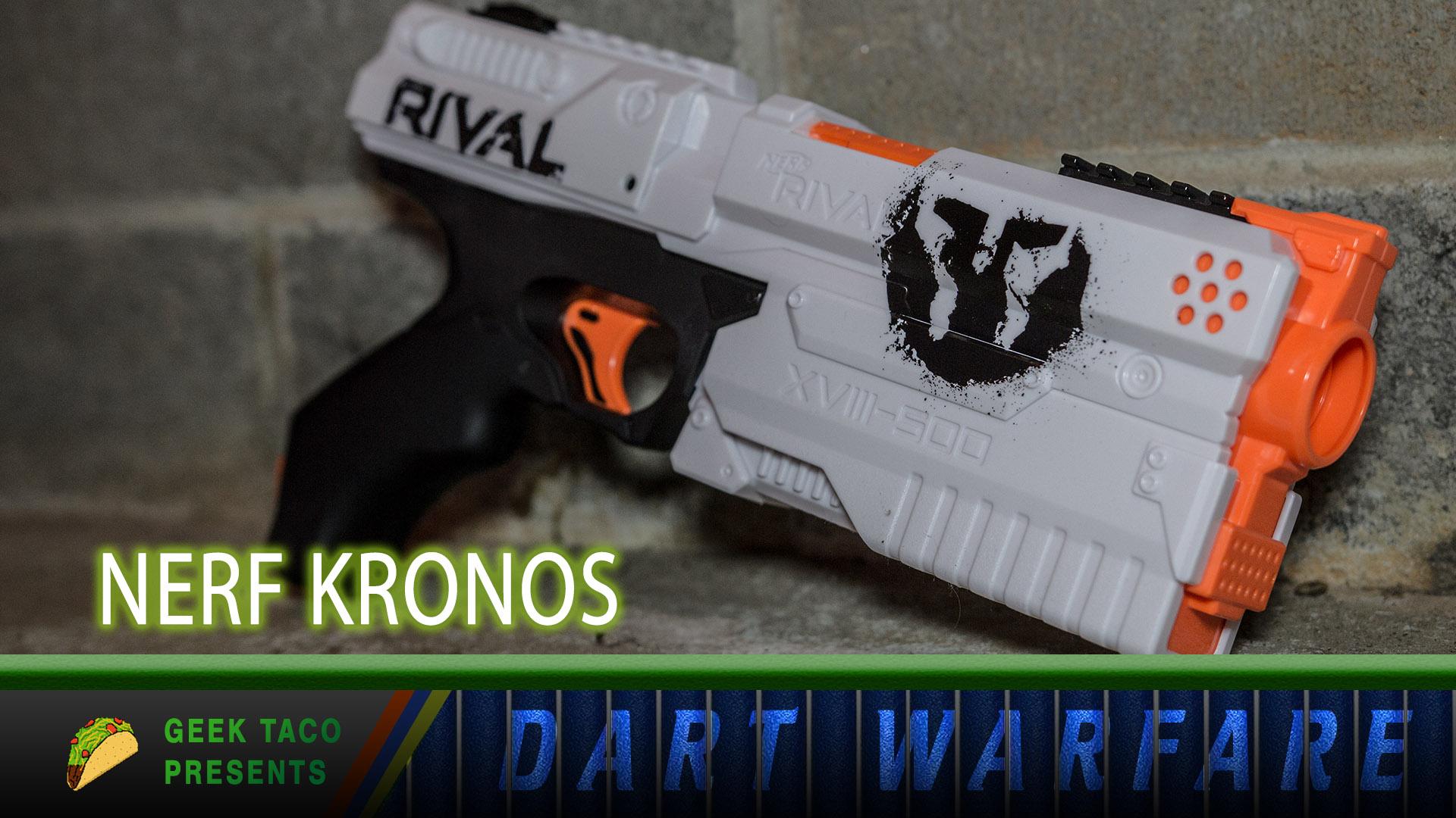 Dart Warfare: The NERF Kronos